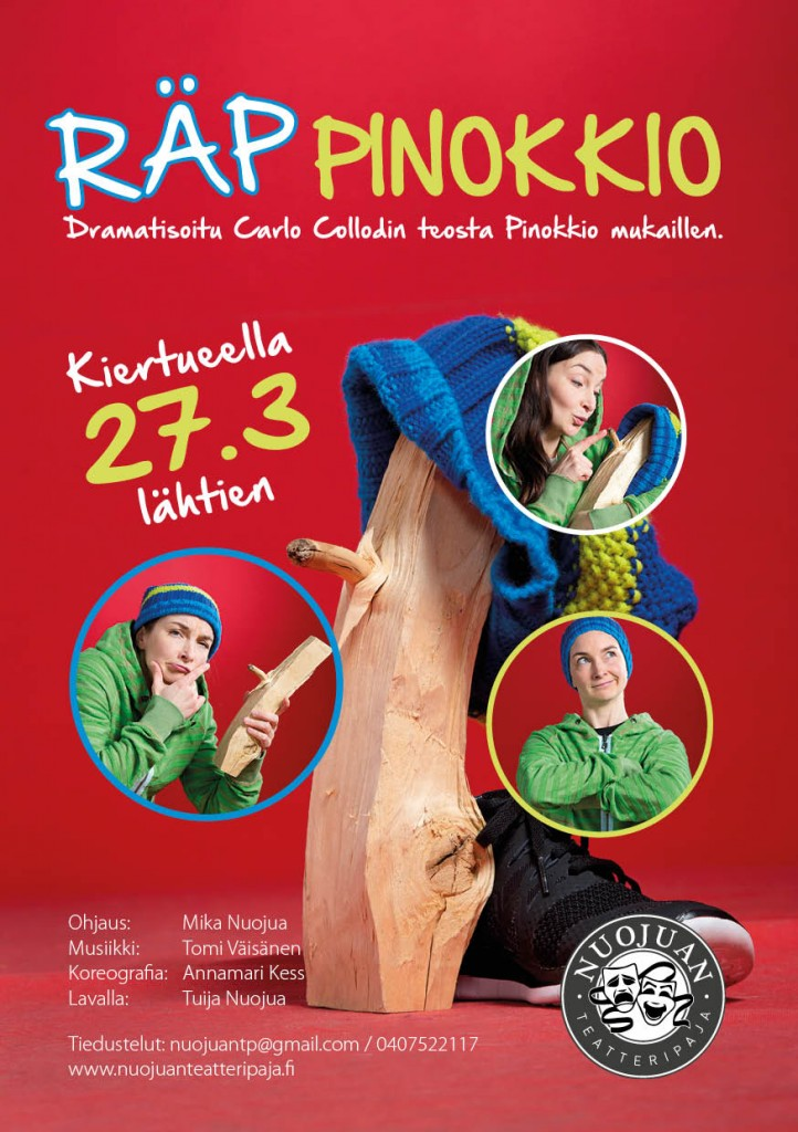 Räppinokkio flyer